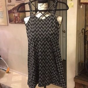 Cool cotton strappy dress